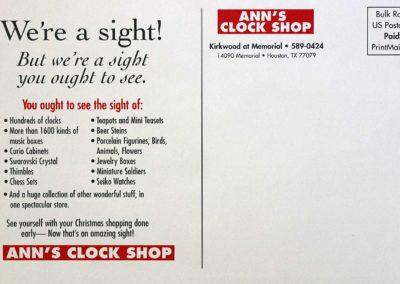 Ann's Clock Shop