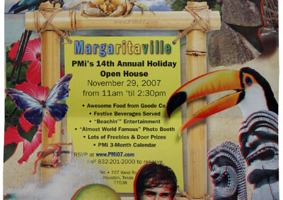 Margaritaville Open House Mailer