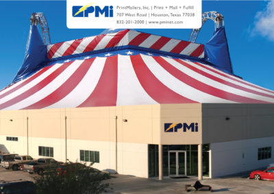 PMi Big Top Open House Invite