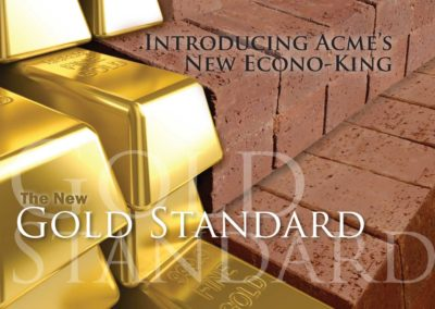 """Gold Standard"" Postcard"