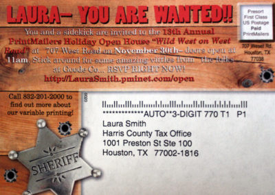 Wanted Open House Post Card